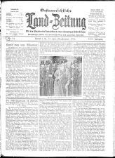 Österreichische Land-Zeitung 19140613 Seite: 1