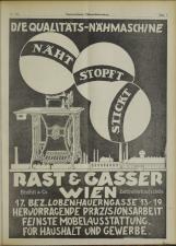 Österreichische Nähmaschinen- und Fahrrad-Zeitung