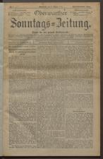 Oberwarther Sonntags-Zeitung 19240106 Seite: 1