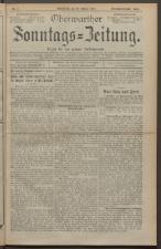 Oberwarther Sonntags-Zeitung 19240120 Seite: 1