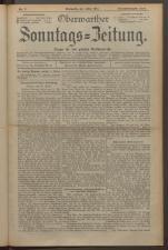 Oberwarther Sonntags-Zeitung 19240511 Seite: 1