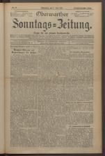 Oberwarther Sonntags-Zeitung 19240608 Seite: 1