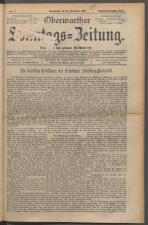 Oberwarther Sonntags-Zeitung 19251122 Seite: 1