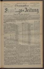Oberwarther Sonntags-Zeitung 19270123 Seite: 1
