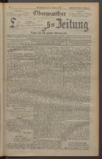 Oberwarther Sonntags-Zeitung 19270220 Seite: 1
