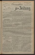 Oberwarther Sonntags-Zeitung 19270306 Seite: 1