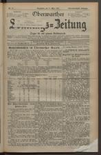 Oberwarther Sonntags-Zeitung 19270327 Seite: 1