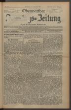 Oberwarther Sonntags-Zeitung 19270626 Seite: 1