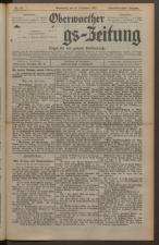 Oberwarther Sonntags-Zeitung 19270918 Seite: 1