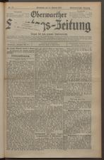 Oberwarther Sonntags-Zeitung 19271030 Seite: 1
