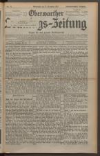 Oberwarther Sonntags-Zeitung 19271127 Seite: 1