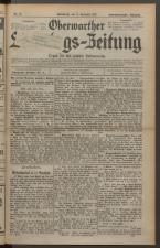 Oberwarther Sonntags-Zeitung 19271211 Seite: 1