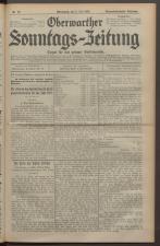 Oberwarther Sonntags-Zeitung 19280708 Seite: 1