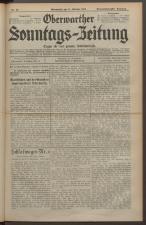 Oberwarther Sonntags-Zeitung 19281014 Seite: 1