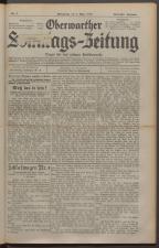 Oberwarther Sonntags-Zeitung 19290303 Seite: 1
