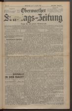 Oberwarther Sonntags-Zeitung 19290421 Seite: 1