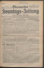 Oberwarther Sonntags-Zeitung 19300615 Seite: 1
