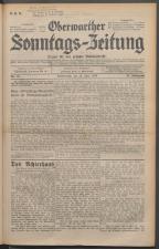 Oberwarther Sonntags-Zeitung 19300629 Seite: 1