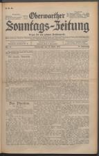 Oberwarther Sonntags-Zeitung 19310426 Seite: 1