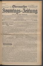 Oberwarther Sonntags-Zeitung 19310913 Seite: 1