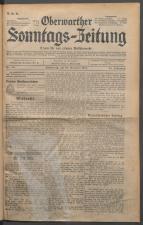 Oberwarther Sonntags-Zeitung 19311227 Seite: 1