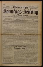 Oberwarther Sonntags-Zeitung 19321030 Seite: 1