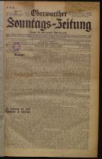 Oberwarther Sonntags-Zeitung 19330101 Seite: 1