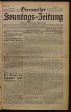 Oberwarther Sonntags-Zeitung 19330115 Seite: 1