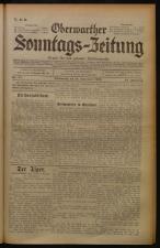 Oberwarther Sonntags-Zeitung 19330910 Seite: 1