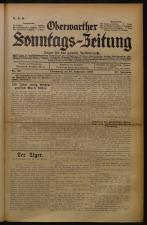 Oberwarther Sonntags-Zeitung 19330924 Seite: 1