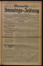 Oberwarther Sonntags-Zeitung 19331224 Seite: 1