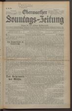 Oberwarther Sonntags-Zeitung 19340225 Seite: 1