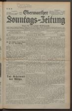 Oberwarther Sonntags-Zeitung 19340311 Seite: 1