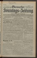 Oberwarther Sonntags-Zeitung 19340715 Seite: 1