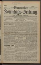 Oberwarther Sonntags-Zeitung 19341111 Seite: 1