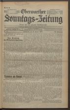 Oberwarther Sonntags-Zeitung 19350113 Seite: 1
