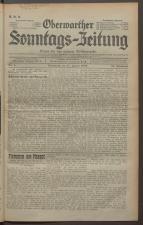 Oberwarther Sonntags-Zeitung 19350127 Seite: 1
