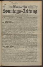 Oberwarther Sonntags-Zeitung 19350630 Seite: 1