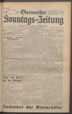 Oberwarther Sonntags-Zeitung 19360301 Seite: 1