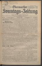 Oberwarther Sonntags-Zeitung 19360419 Seite: 1