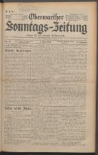 Oberwarther Sonntags-Zeitung 19360503 Seite: 1