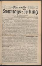 Oberwarther Sonntags-Zeitung 19361004 Seite: 1