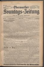 Oberwarther Sonntags-Zeitung 19370307 Seite: 1