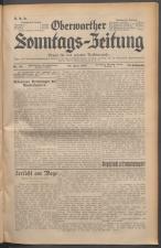 Oberwarther Sonntags-Zeitung 19370620 Seite: 1