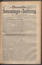 Oberwarther Sonntags-Zeitung 19371003 Seite: 1