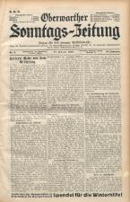 Oberwarther Sonntags-Zeitung 19380227 Seite: 1