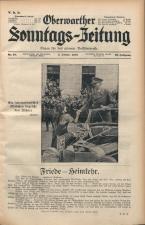 Oberwarther Sonntags-Zeitung 19381009 Seite: 1