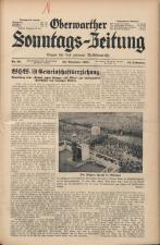 Oberwarther Sonntags-Zeitung