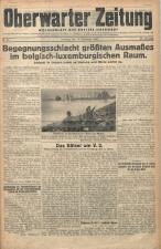 Oberwarther Sonntags-Zeitung 19441230 Seite: 1