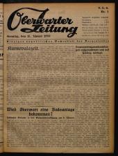 Oberwarther Sonntags-Zeitung 19500115 Seite: 1